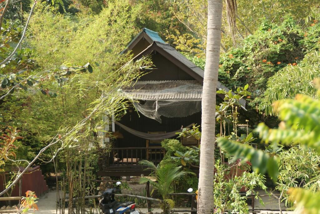 Eine der Hütten bei My Way
